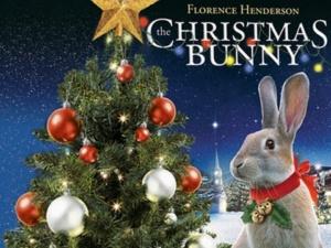 Christmas Bunny poster