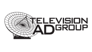 Television AdGroup Logo Black