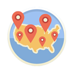 National Map Icon