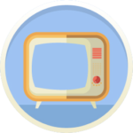 TV Set Icon Picture