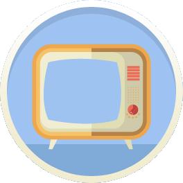 TV Set Icon Picture