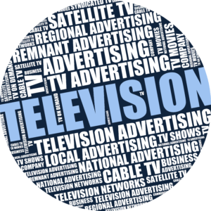 Television Circle Icon