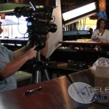 Camera in restaurant