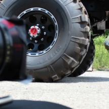 truck wheel army